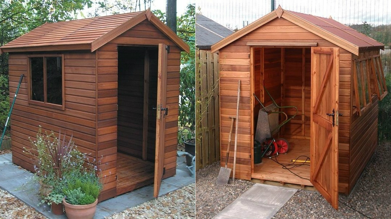 The 6 advantages of a wooden garden shed